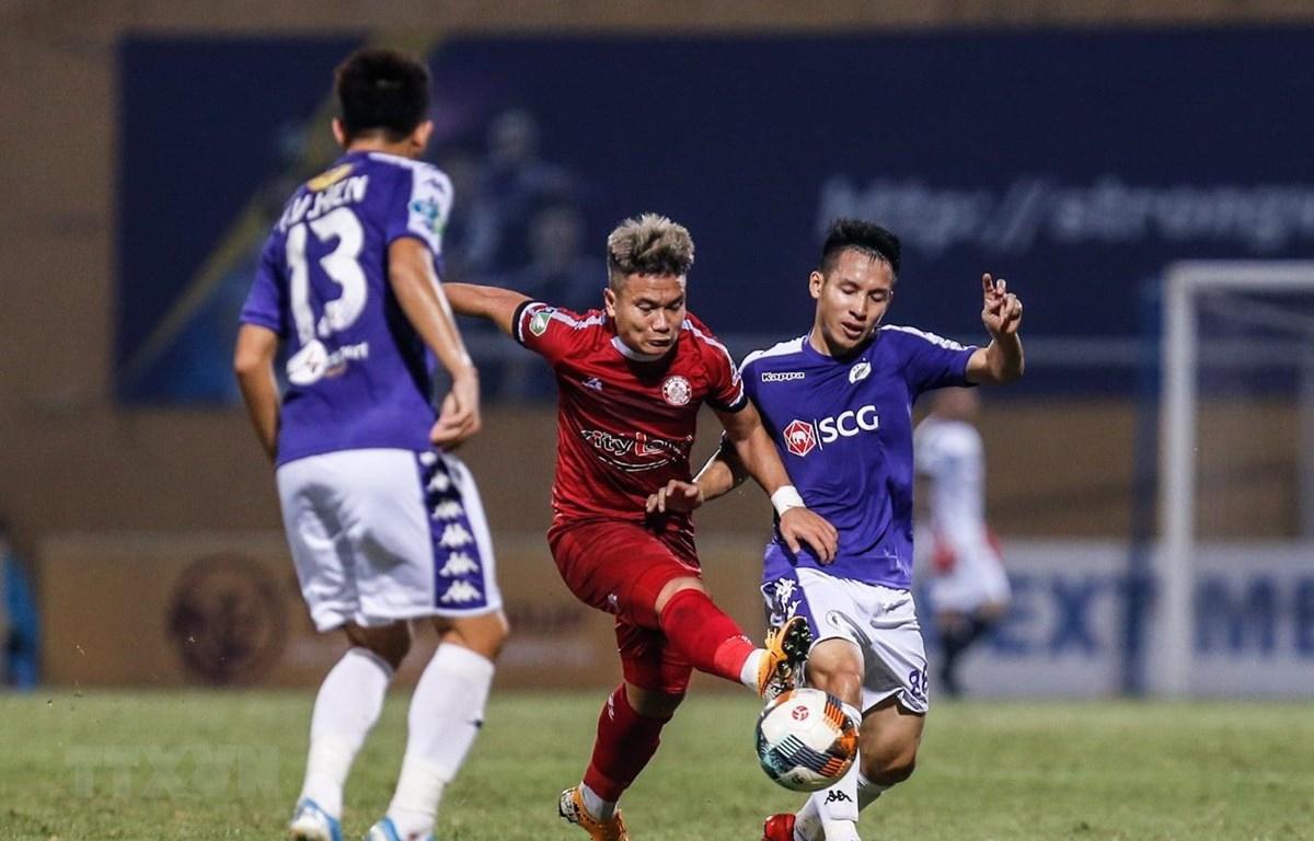 Trận tranh Siêu cúp Quốc gia giữa Hà Nội FC và Thành phố Hồ Chí Minh sẽ diễn ra vào ngày 1/3. (Ảnh: Trọng Đạt/TTXVN)