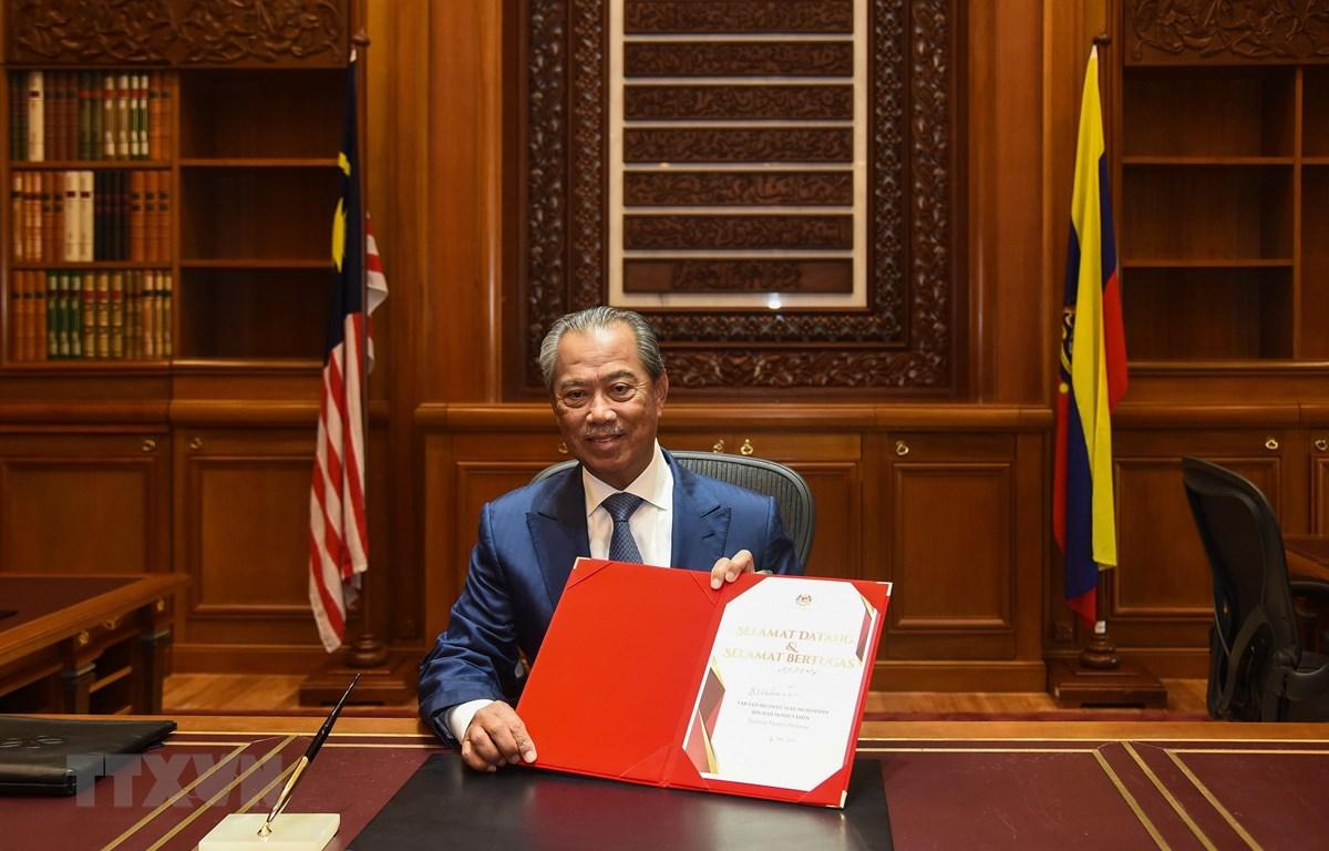 Tân Thủ tướng Malaysia Muhyiddin Yassin. (Ảnh: AFP/TTXVN)