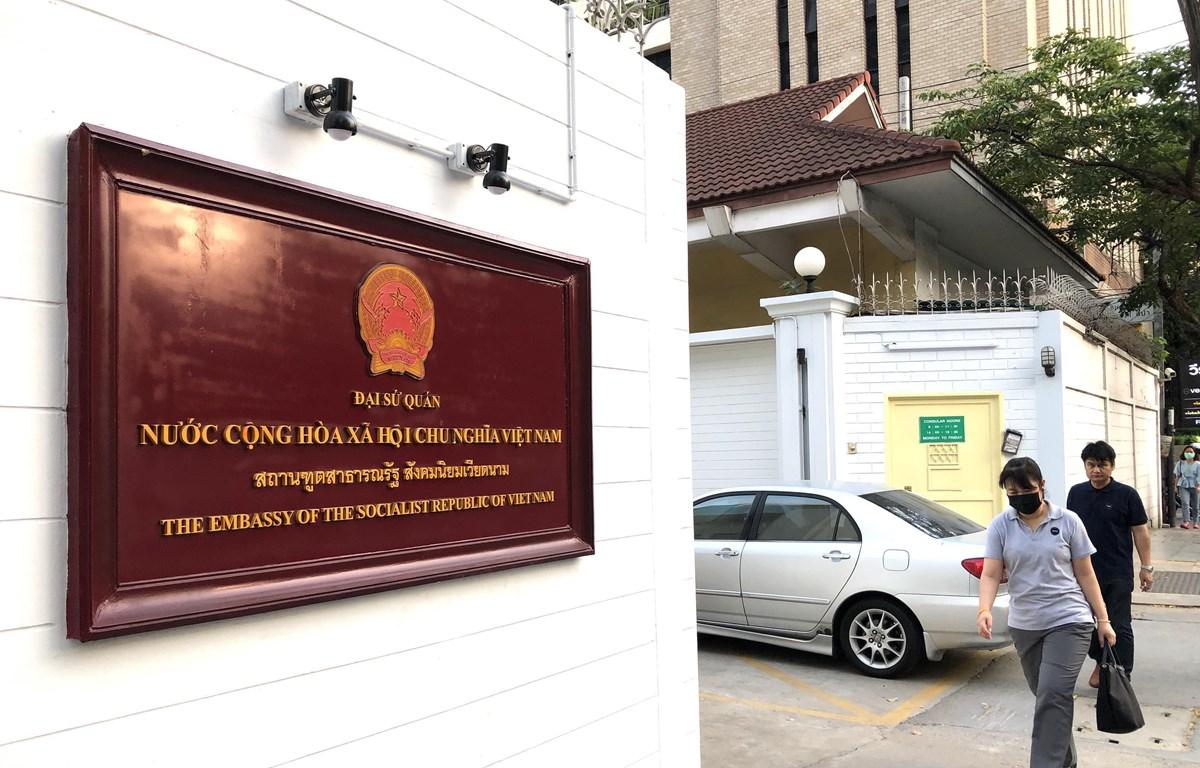 Trụ sở Đại sứ quán Việt Nam tại thủ đô Bangkok của Thái Lan. (Ảnh: Ngọc Quang/TTXVN)