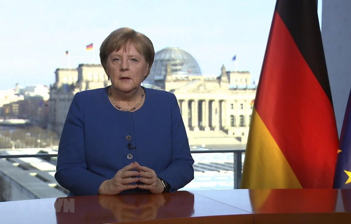 Thủ tướng Đức Angela Merkel. (Ảnh: AFP/TTXVN)