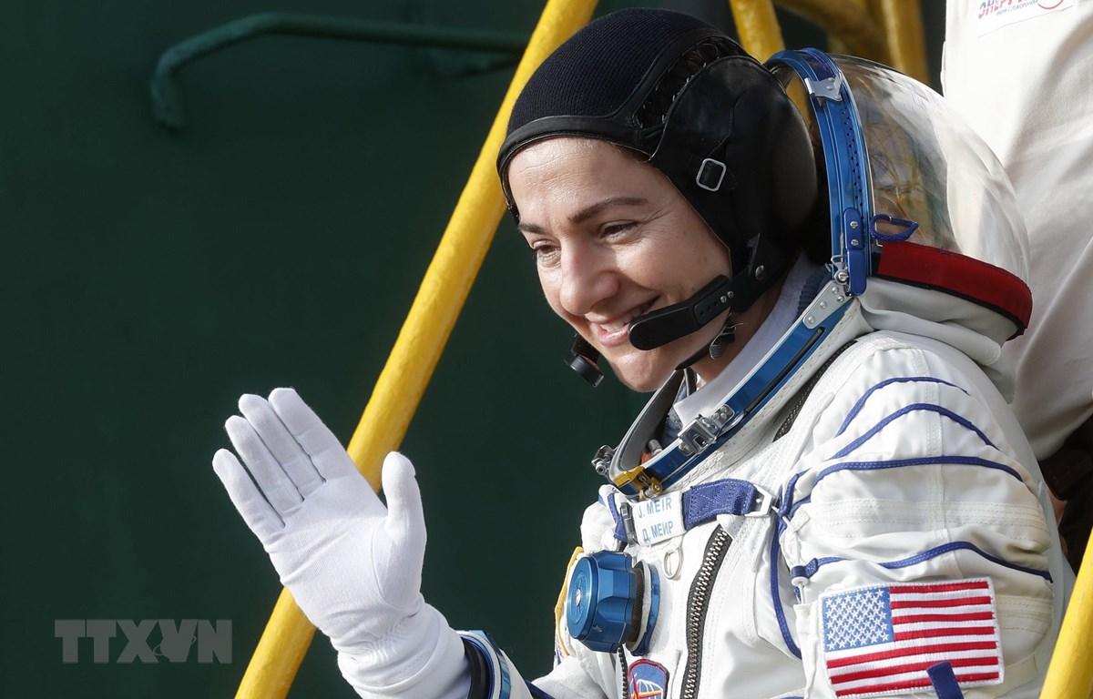 Phi hành gia của NASA Jessica Meir. (Ảnh: AFP/ TTXVN)