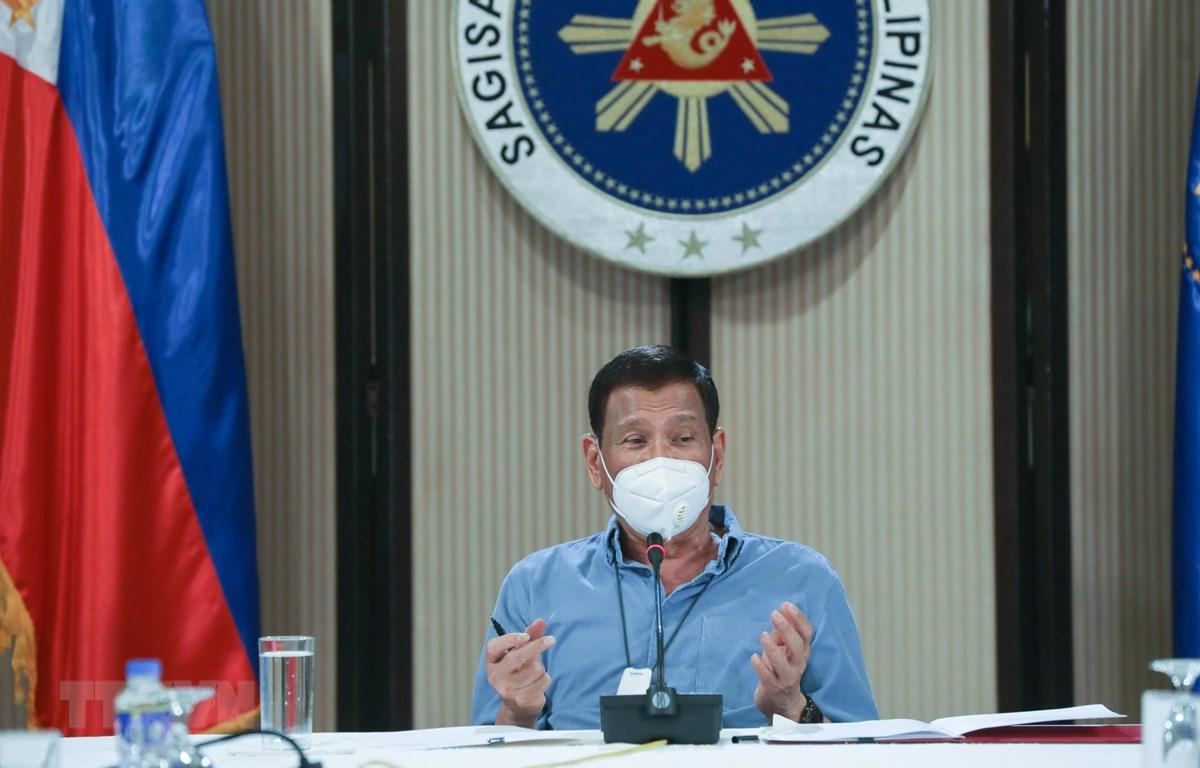 Tổng thống Philippines Rodrigo Duterte. (Ảnh: AFP/TTXVN)