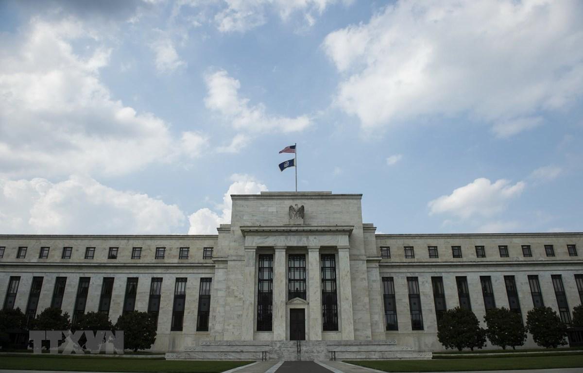 Trụ sở Ngân hàng Dự trữ Liên bang Mỹ (FED) tại Washington, DC, Mỹ. (Ảnh: AFP/TTXVN)