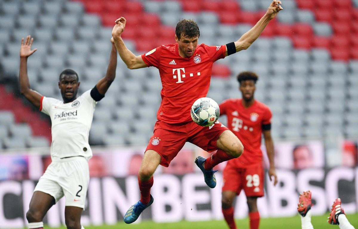 Mueller và Bayern sẵn sàng cho trận Klassiker. (Nguồn: AFP)