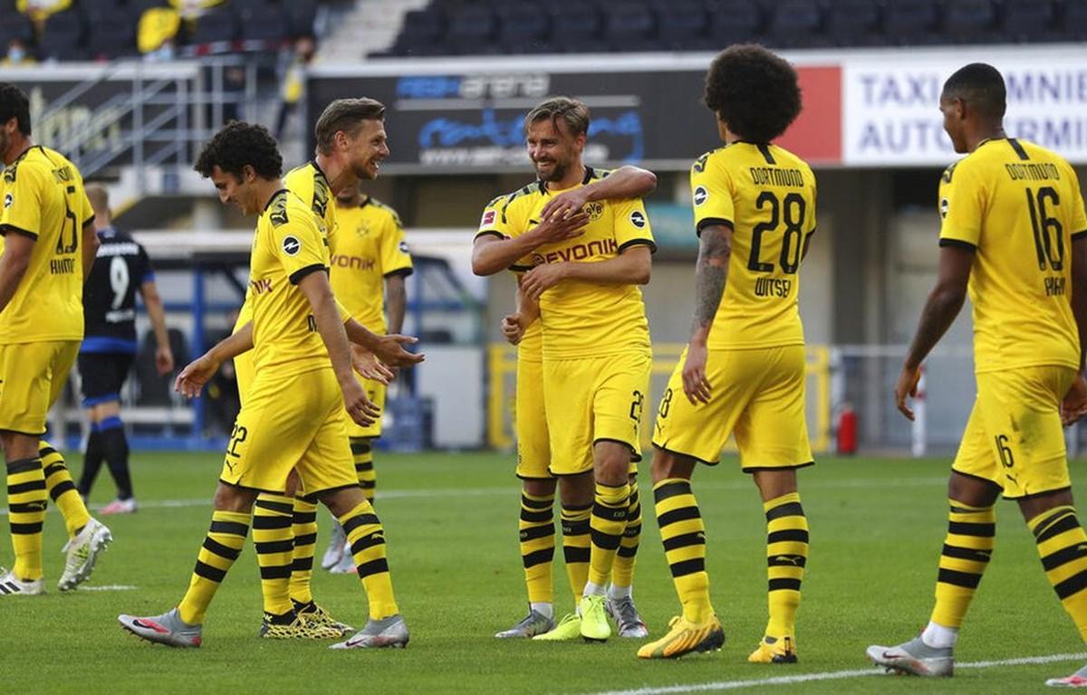 Dortmund thắng tưng bừng 6-1. (Nguồn: AP)