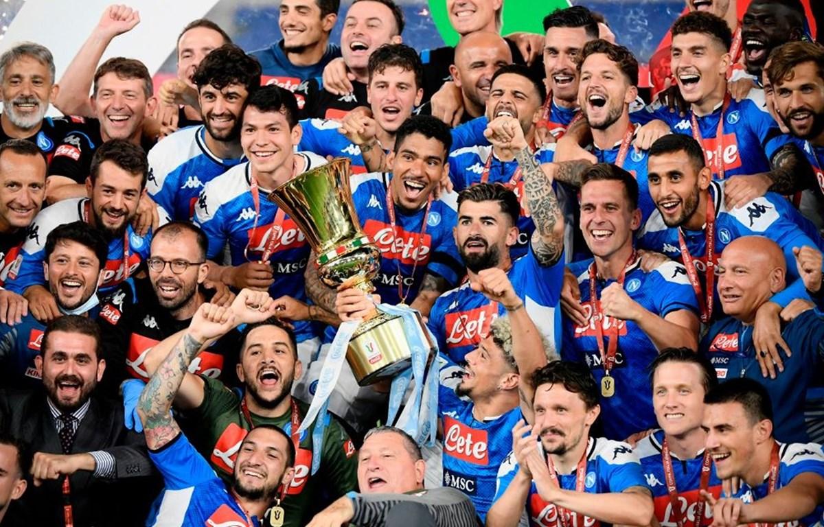 Napoli giành chức vô địch Coppa Italia. (Nguồn: Sky)