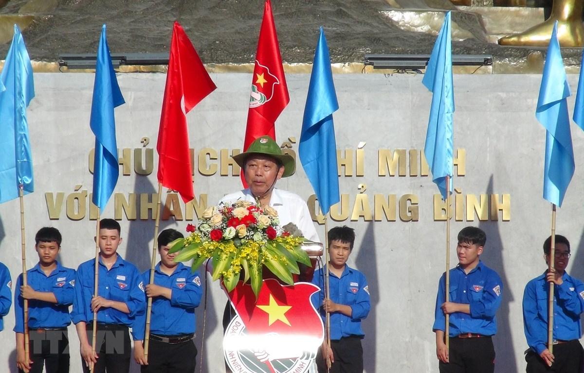 Phó Thủ tướng Thường trực Trương Hòa Bình phát biểu tại Lễ ra quân Chiến dịch Thanh niên tình nguyện Hè năm 2020. (Ảnh: Đức Thọ/TTXVN)
