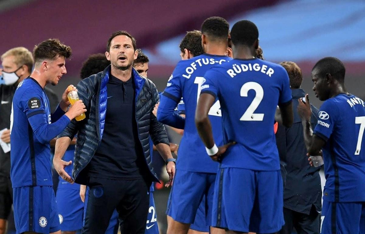 Chelsea của Lampard bại trận. (Nguồn: PA)