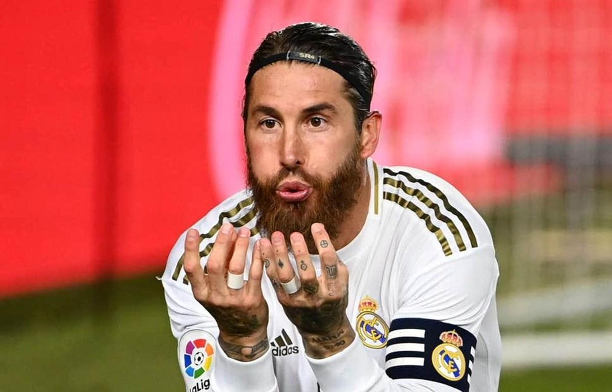 Ramos tiếp tục ghi bàn giúp Real giành chiến thắng. (Nguồn: AFP/Getty Images)