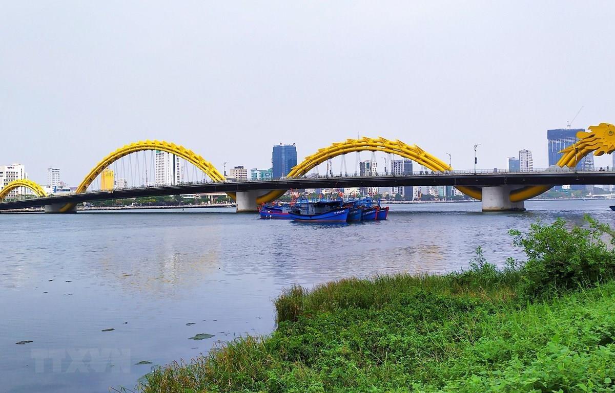Cầu Rồng ở Đà Nẵng. (Ảnh: Trần Lê Lâm/TTXVN)