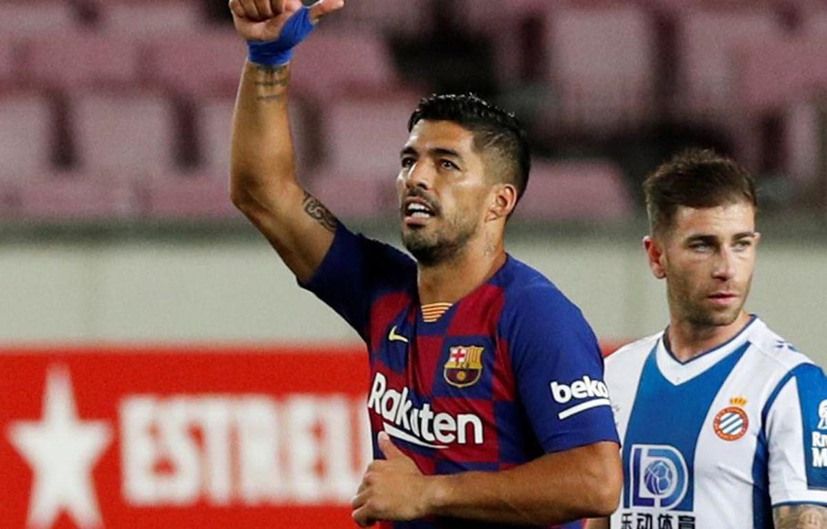 Suarez giúp Barcelona giành chiến thắng. (Nguồn: beinsports)