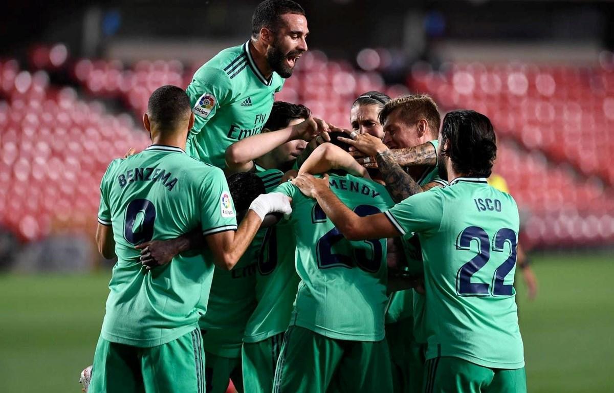 Real Madrid cận kề ngày đăng quang La Liga mùa này. (Nguồn: Getty Images)