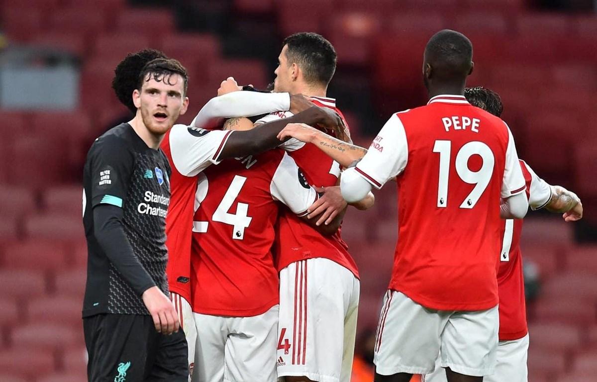 Arsenal khiến nhà vô địch Liverpool nhận thất bại thứ 2. (Nguồn: Reuters)