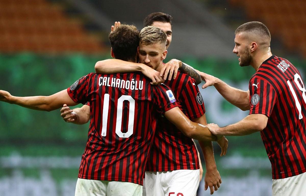 AC Milan giành chiến thắng hủy diệt. (Nguồn: Getty Images)