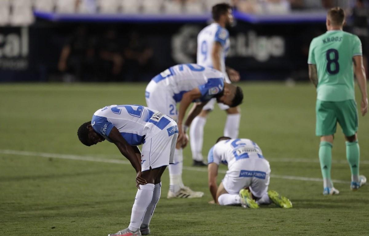 Leganes xuống hạng sau trận hòa Real Madrid. (Nguồn: Getty Images)