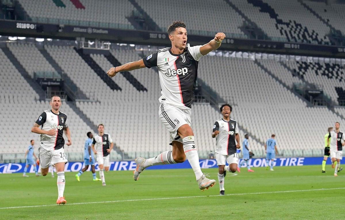 Ronaldo lại thiết lập nên hàng loạt kỷ lục. (Nguồn: Getty Images)