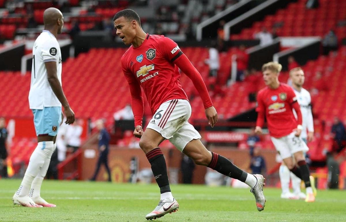 Greenwood giúp Manchester United vươn lên tốp 3. (Nguồn: Getty Images)