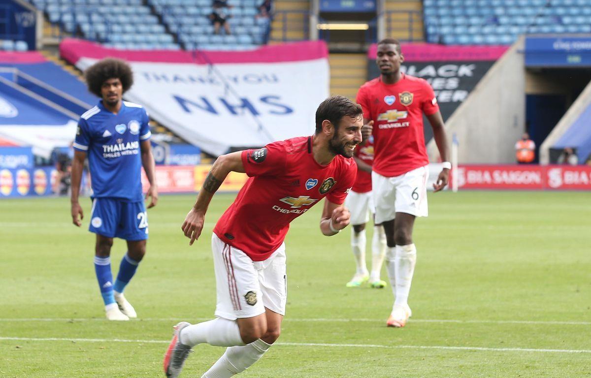 Bruno ghi bàn giúp Manchester United giành vé dự Champions League.