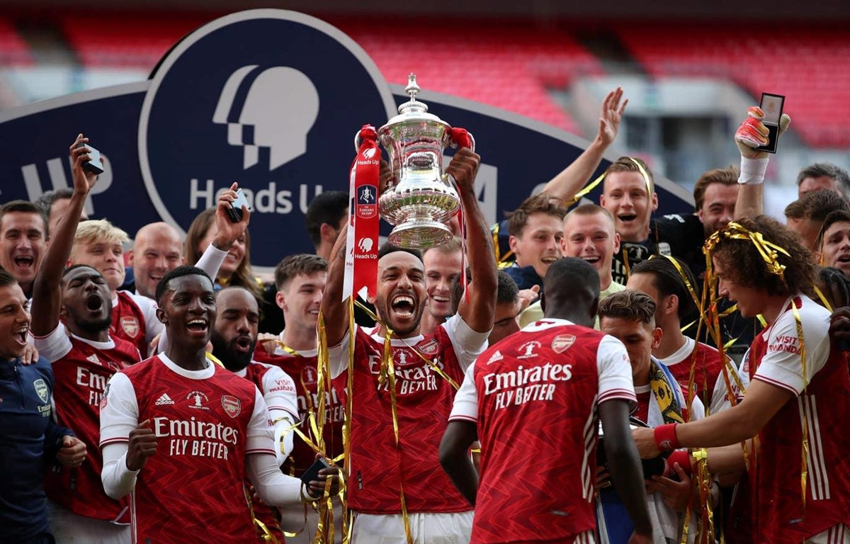 Arsenal giành chức vô địch FA Cup. (Nguồn: Reuters)