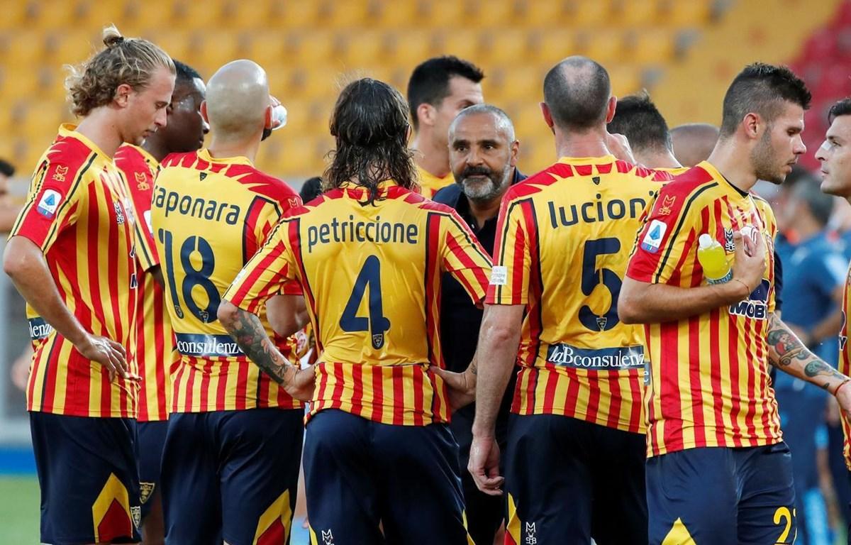 Lecce trở lại Serie B sau 1 năm thăng hạng. (Nguồn: Reuters)