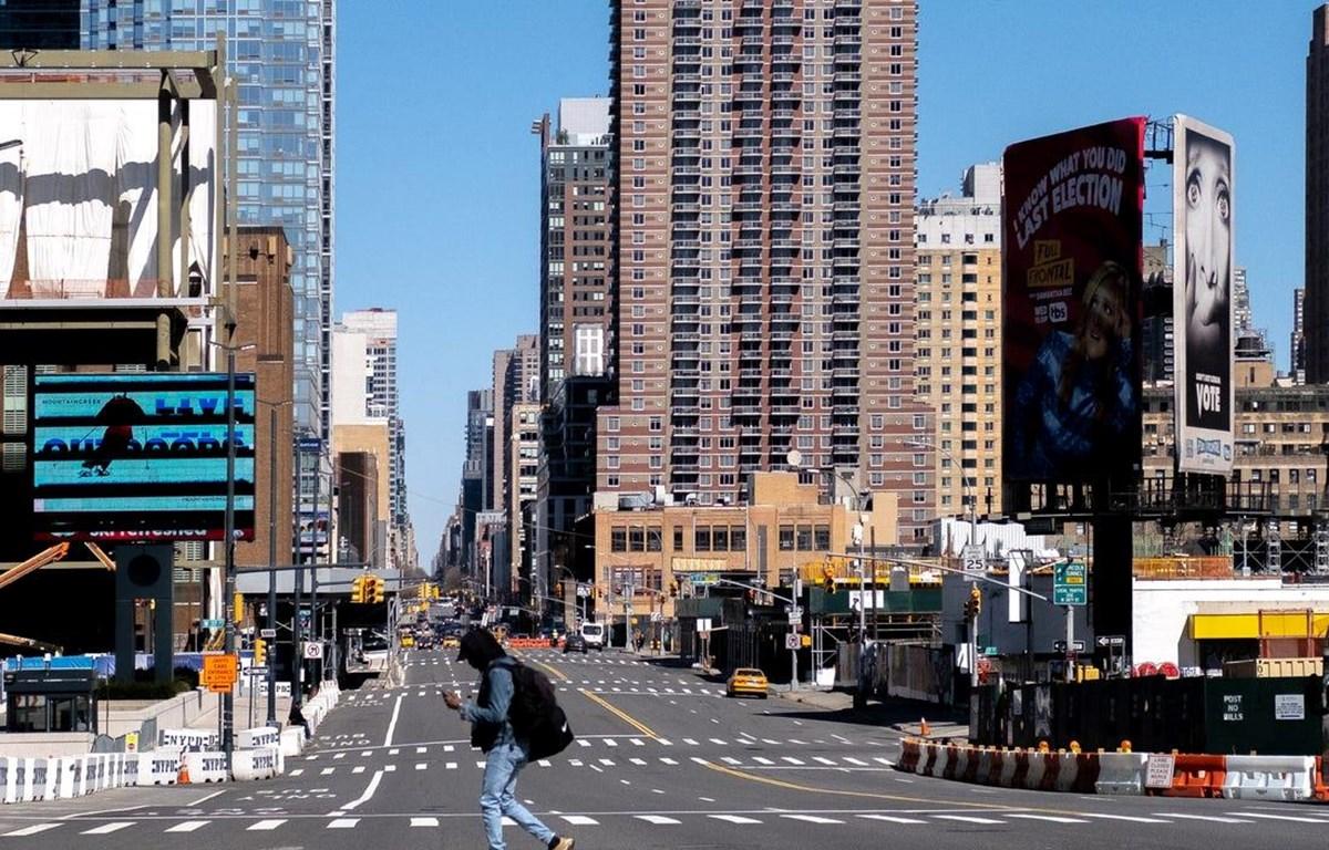 Có tới một nửa số doanh nghiệp nhỏ phải đóng cửa ở quận trung tâm Manhattan. (Nguồn: businessinsider)