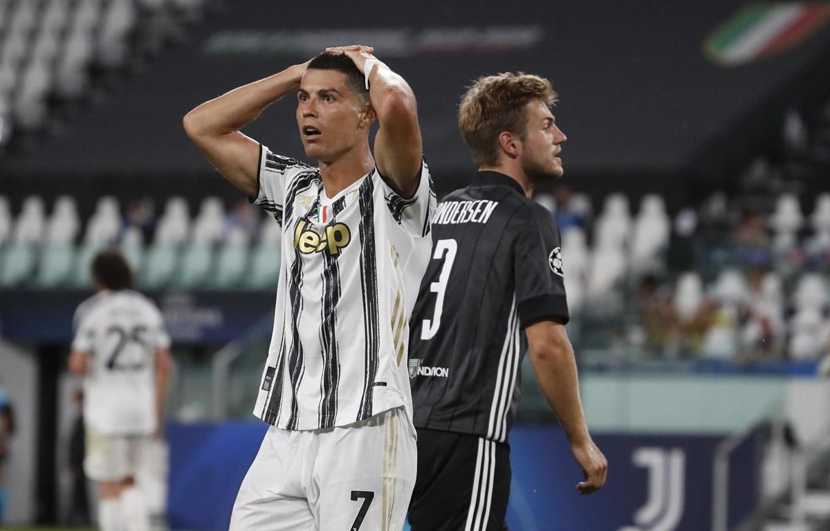 Ronaldo không thể cứu được Juventus. (Nguồn: Getty Images)