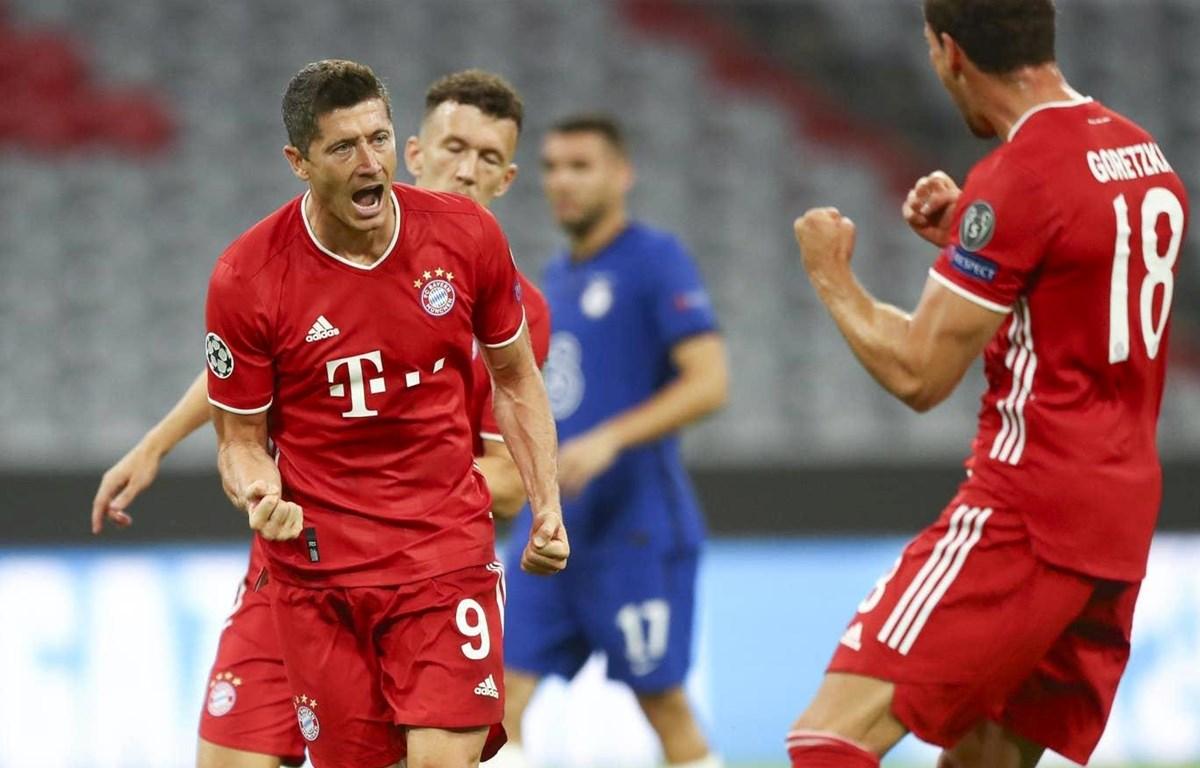 Lewandowski tỏa sáng mang chiến thắng về cho Bayern. (Nguồn: AP)