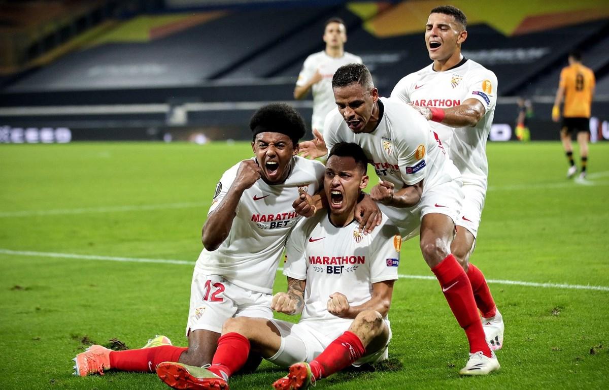 Sevilla giành vé vào bán kết Europa League. (Nguồn: Getty Images)