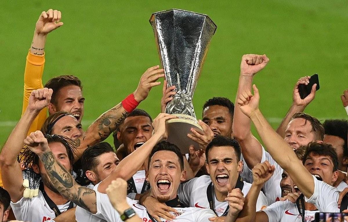 Sevilla lần thứ 6 đăng quang Europa League. (Nguồn: Getty Images)