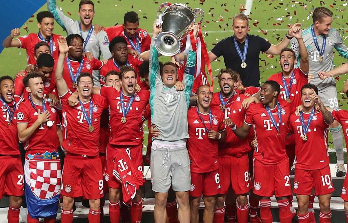 Bayern Munich vô địch Champions League 2019-20. (Nguồn: Getty Images)