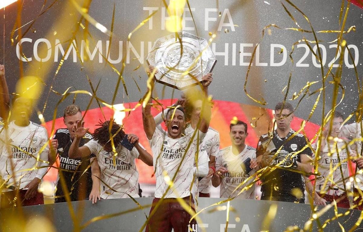 Arsenal lần thứ 16 giành Siêu cúp Anh. (Nguồn: Getty Images)