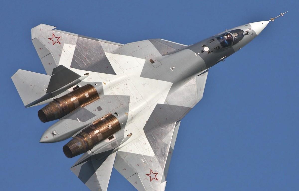 Máy bay chiến đấu Su-57. (Nguồn: flightglobal)