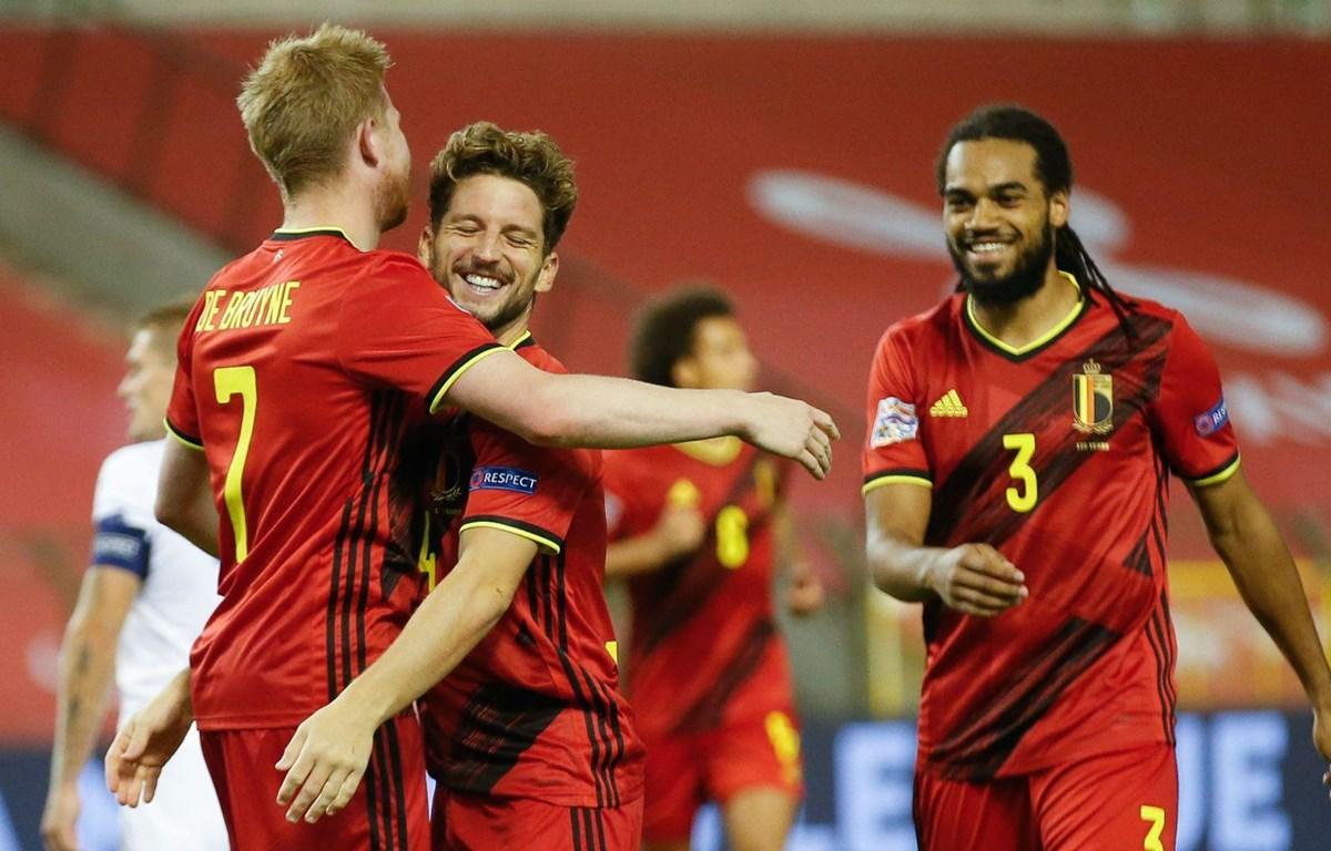 Bỉ giành chiến thắng đậm trước Iceland. (Nguồn: Getty Images)