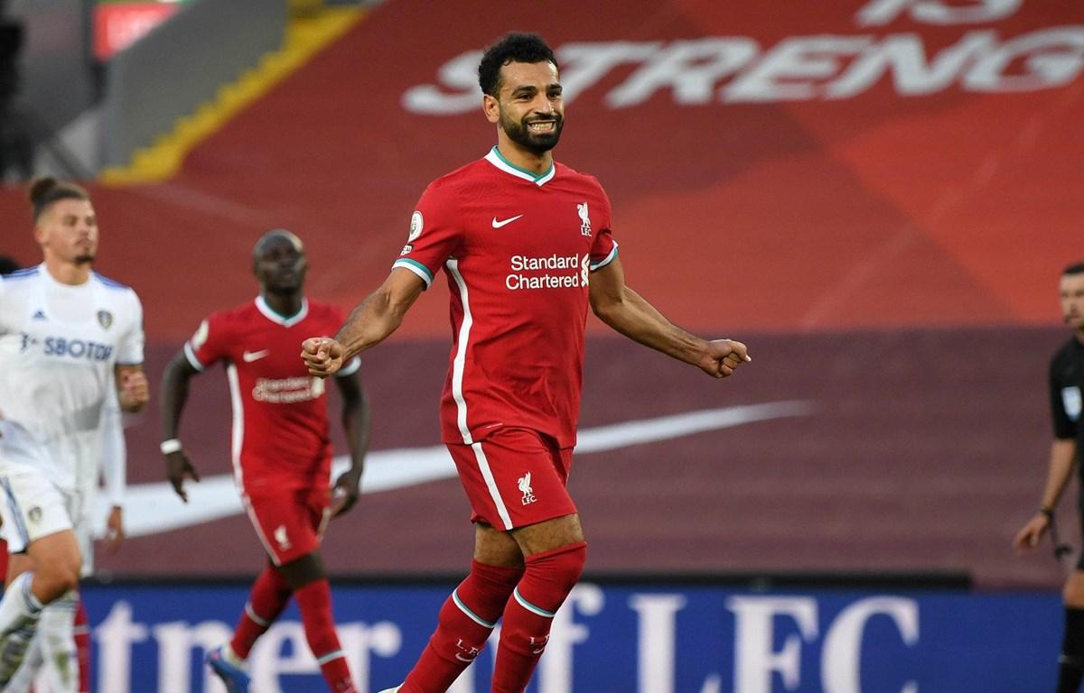 Salah tỏa sáng giúp Liverpool thắng Leeds 4-3. (Nguồn: Getty Images)