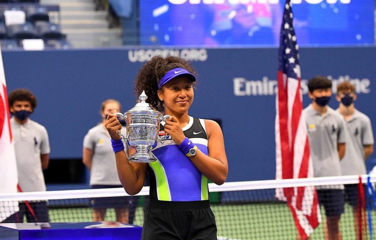 Naomi Osaka lần thứ 2 vô địch US Open. (Nguồn: Getty Images)
