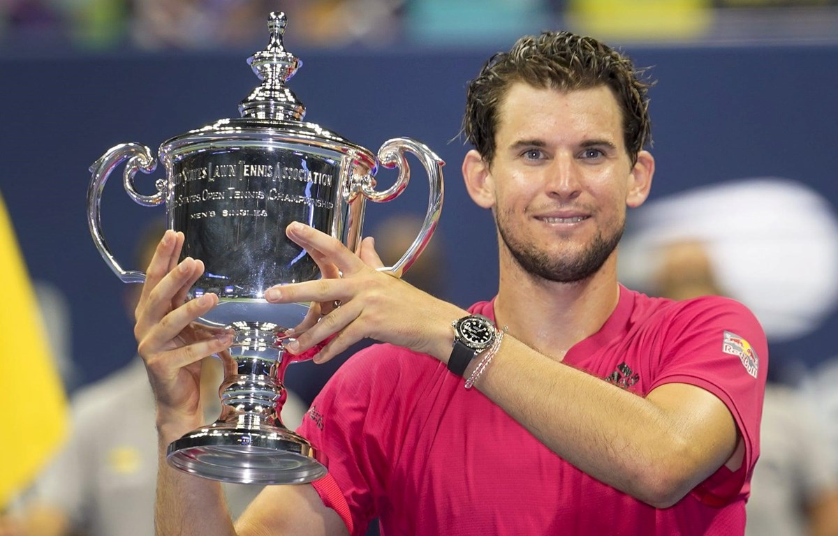 Thiem trở thành tân vương US Open. (Nguồn: AP)