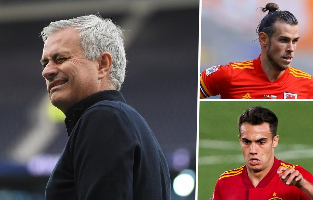 Mourinho sắp có cả Gareth Bale và Sergio Reguilon. (Nguồn: Getty Images)