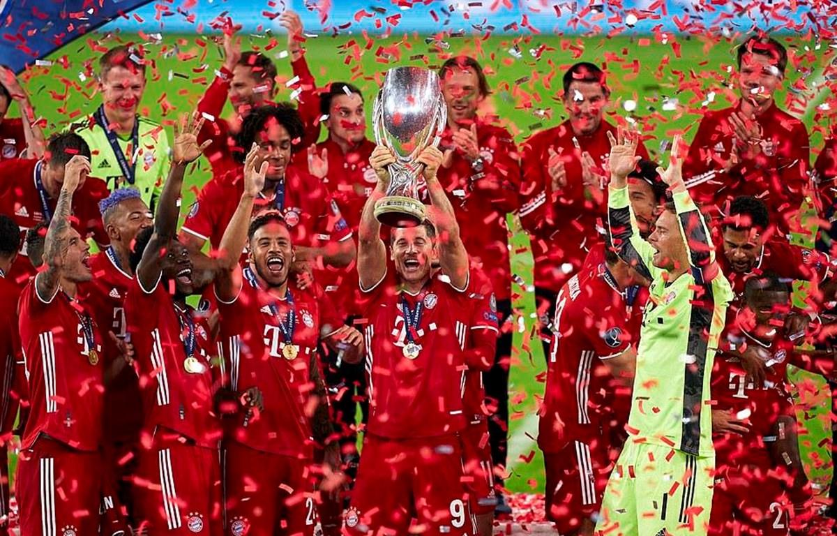 Bayern Munich giành Siêu cúp châu Âu. (Nguồn: Getty Images)