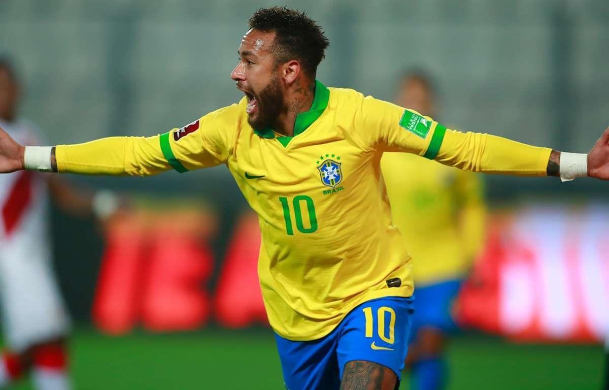 Neymar lập hat-trick giúp Brazil giành chiến thắng. (Nguồn: Getty Images)