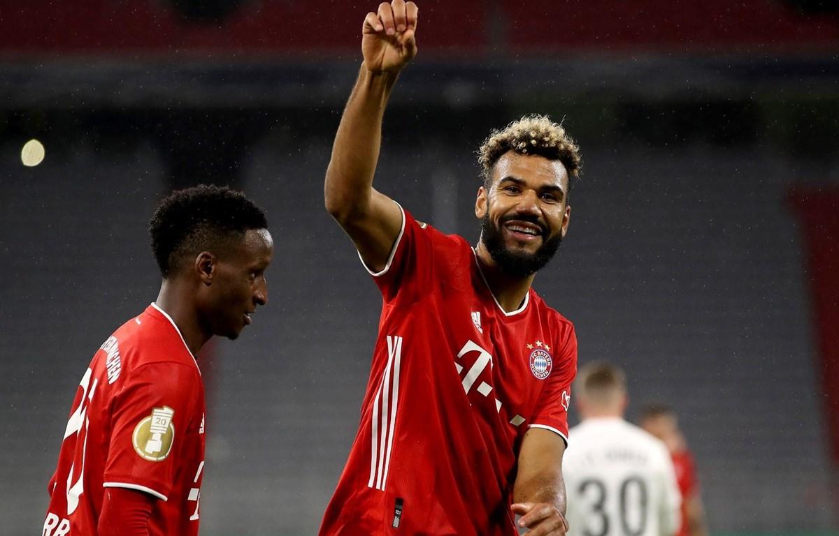 Choupo-Moting lập cú đúp ngay trong ngày ra mắt Bayern. (Nguồn: FcBayern)