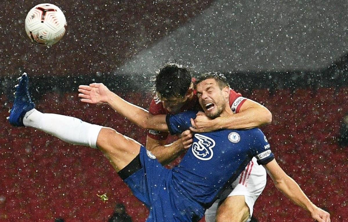 M.U và Chelsea chia điểm. (Nguồn: Reuters)