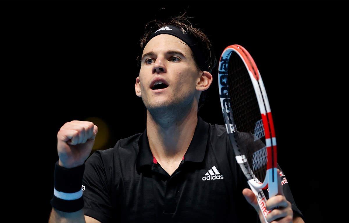 Thiem sớm vào bán kết ATP Finals 2020. (Nguồn: AP)