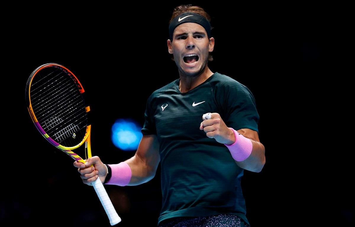 Nadal vào bán kết ATP Finals 2020. (Nguồn: Getty Images)