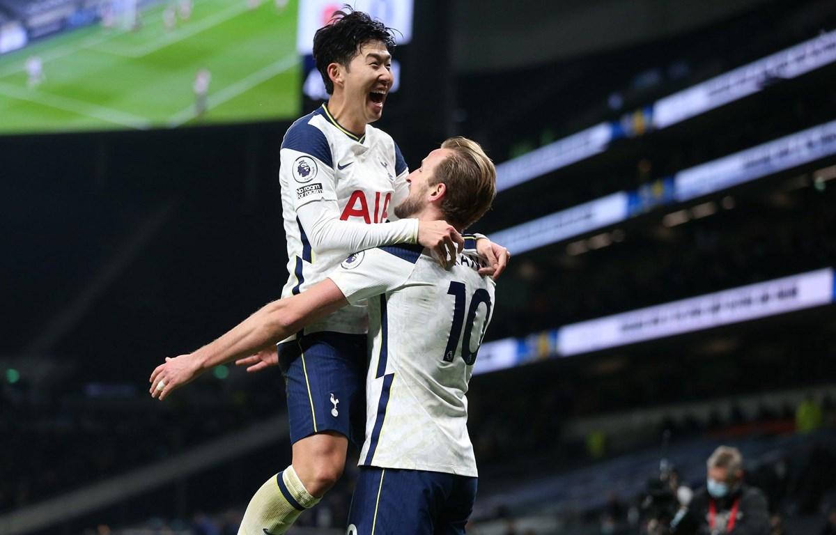 Kane và Son Heung-min lại tỏa sáng giúp Tottenham chiến thắng. (Nguồn: Getty Images)