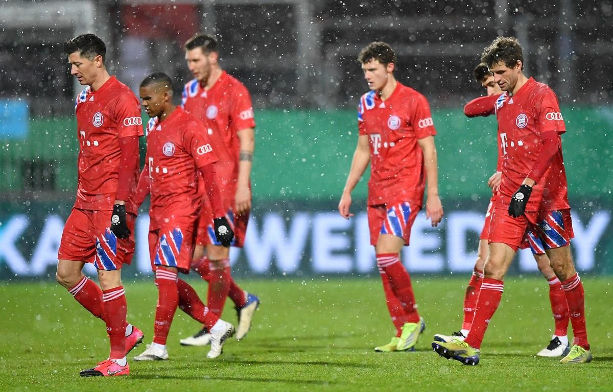 Bayern buồn bã dừng cuộc chơi ở DFB Cup. (Nguồn: Goa)