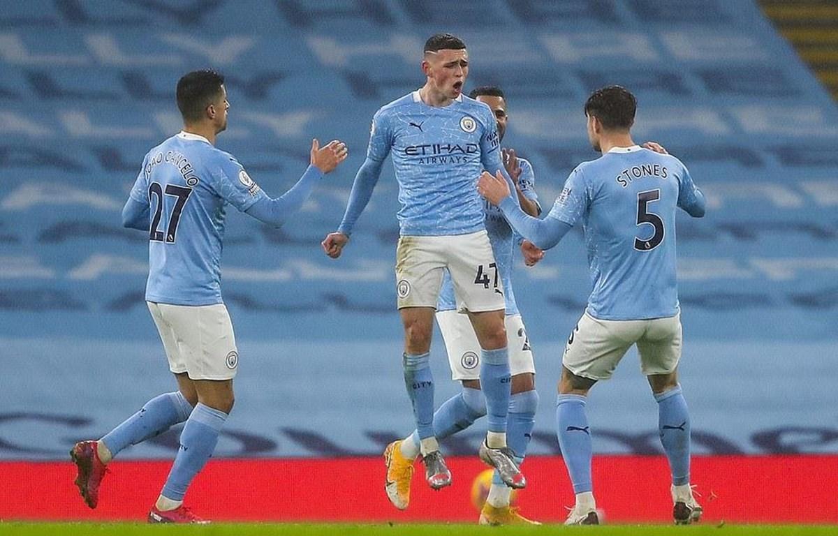 Man City leo lên tốp 3 Premier League. (Nguồn: Getty Images)