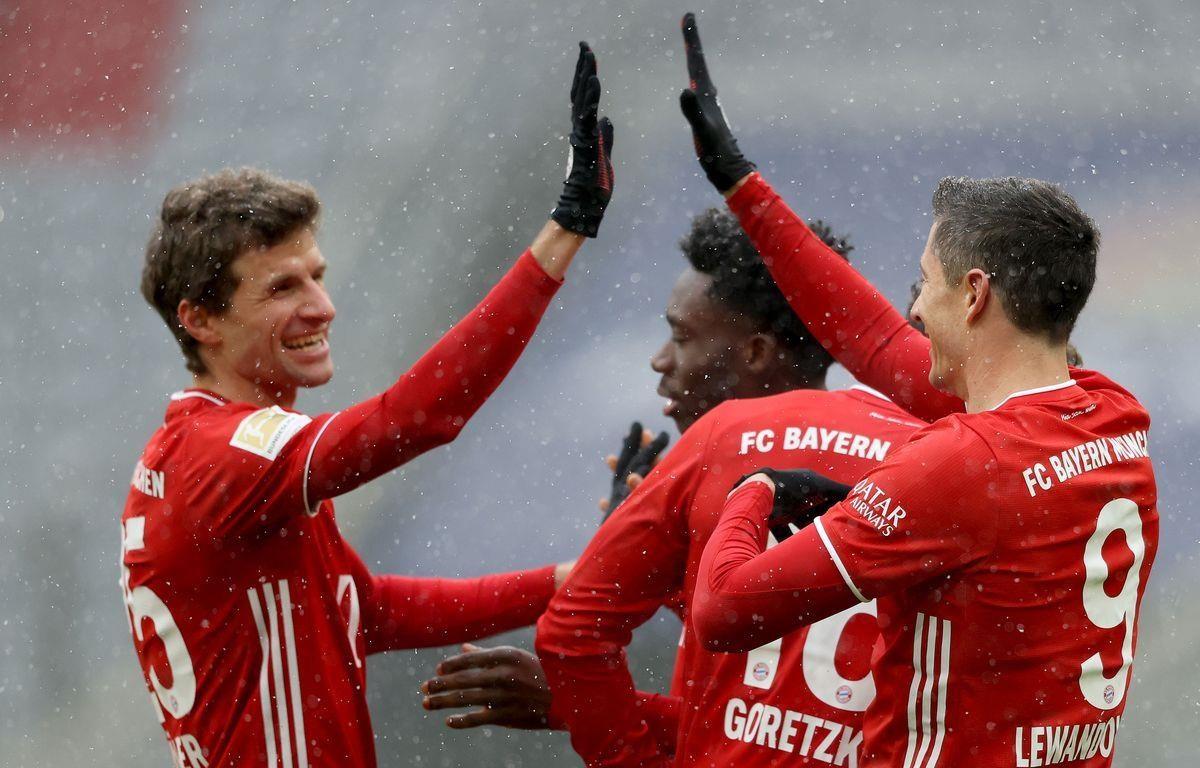 Bayern xây chắc ngôi đầu Bundesliga. (Nguồn: Getty Images)