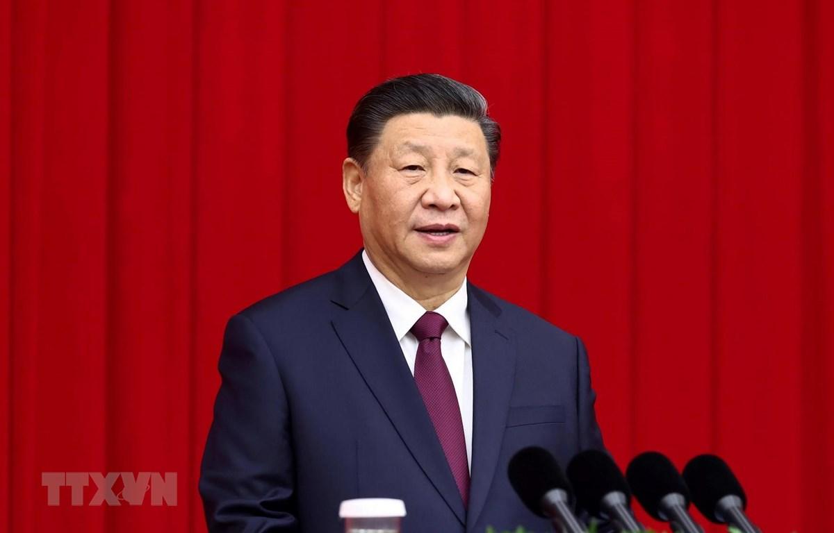 Tổng Bí thư, Chủ tịch Trung Quốc Tập Cận Bình. (Ảnh: THX/TTXVN)