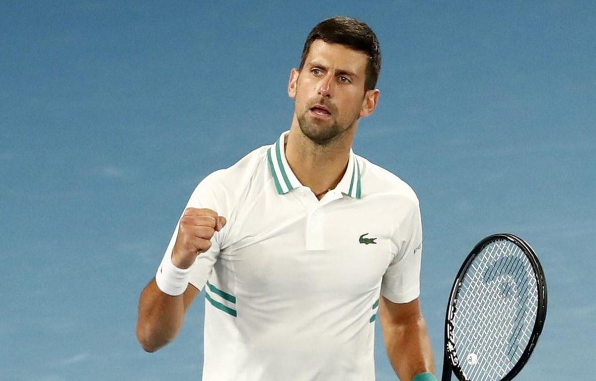 Djokovic lần thứ 9 vào chung kết Australian Open. (Nguồn: Getty Images)