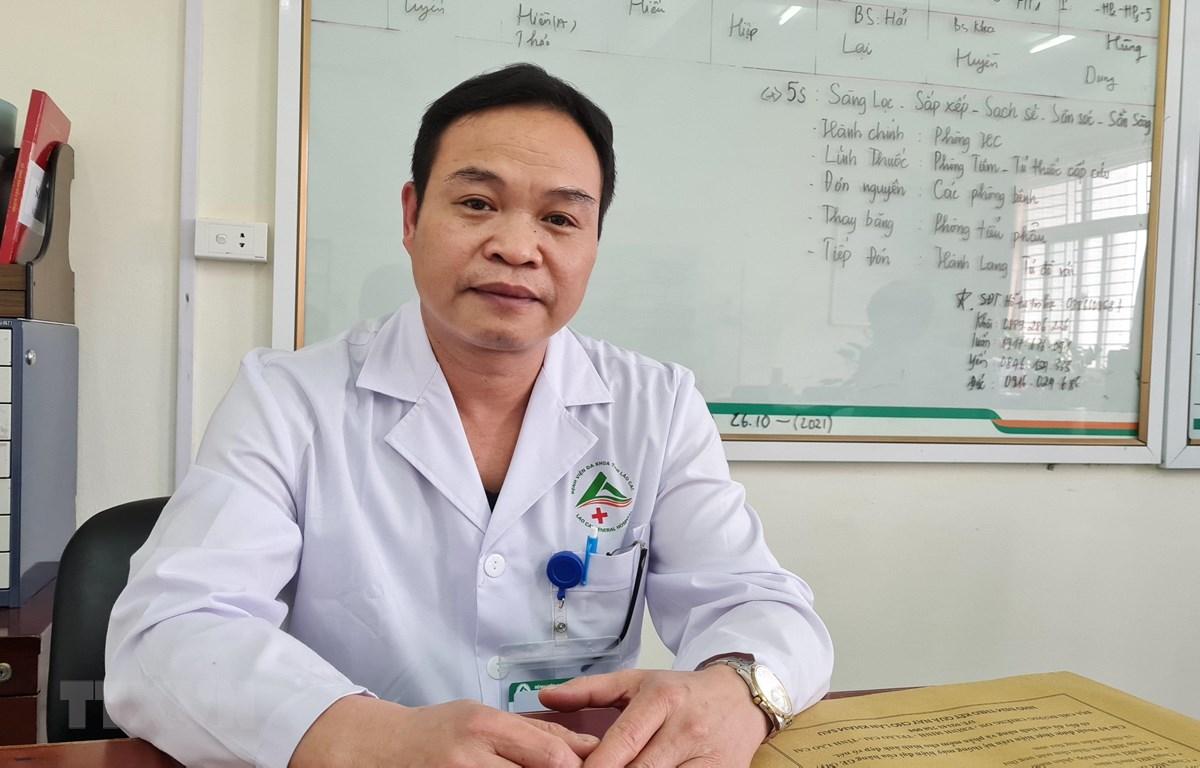Bác sỹ Nguyễn Văn Hải. (Ảnh: Hương Thu/TTXVN)